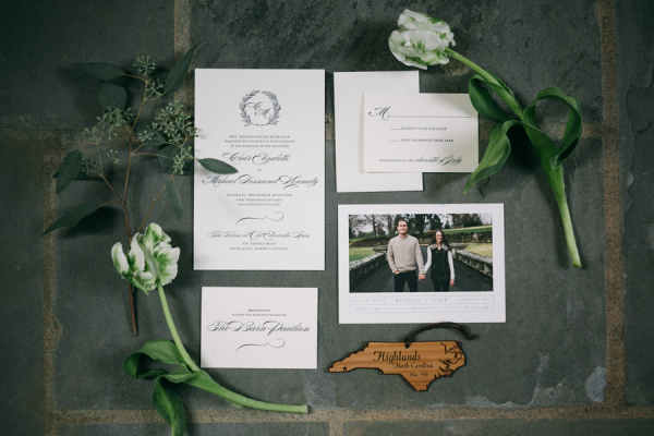 North Carolina Wedding Invitations