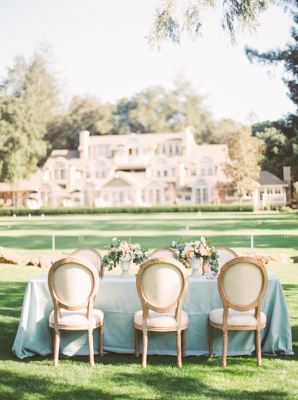 Pale Blue and Ivory Wedding Inspiration