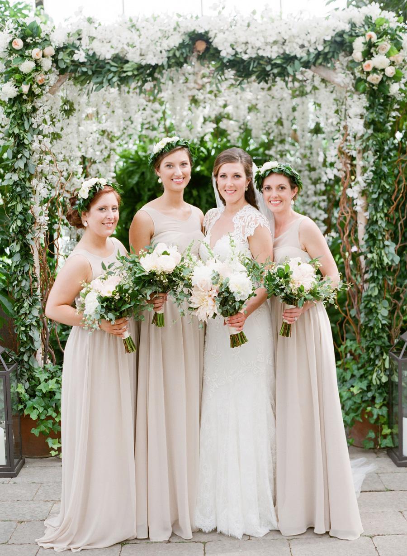 Pale taupe bridesmaids dresses elizabeth anne designs the pale taupe bridesmaids dresses elizabeth anne designs the wedding blog ombrellifo Image collections