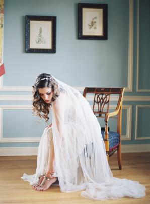 Romantic Bridal Portrait Carrie King