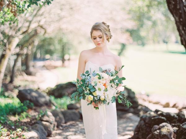 Romantic Pastel Wedding Inspiration Gigi Mallatt 1