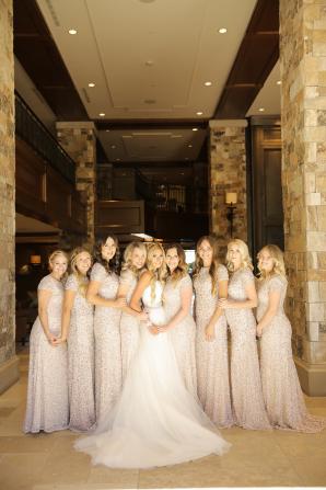 Sequin Bridesmaids Dresses