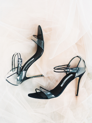 Black Manolo Blahnik Shoes