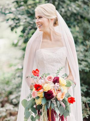 Bride in Lian Carlo
