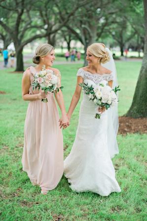 Bridesmaid in Pink Jenny Yoo