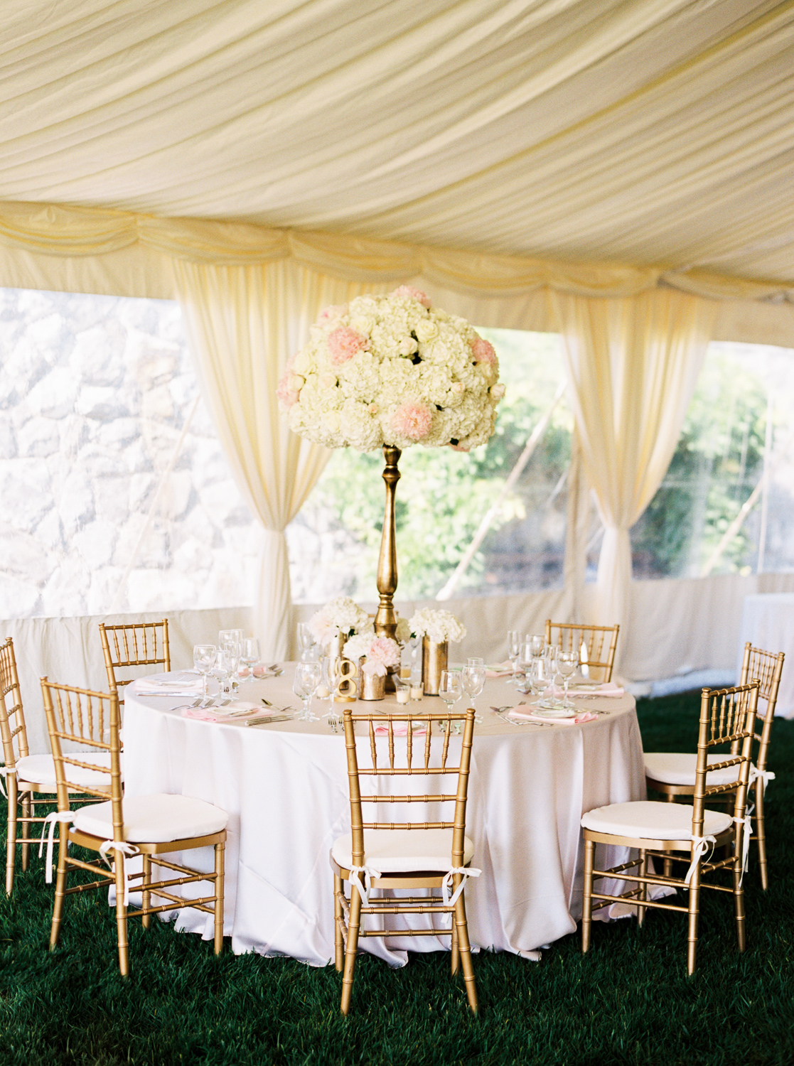 Tent Reception with Ivory Draping - Elizabeth Anne Designs The Wedding Blog & Tent Reception with Ivory Draping - Elizabeth Anne Designs: The ...