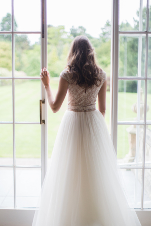 Bridal Gown with Full Skirt