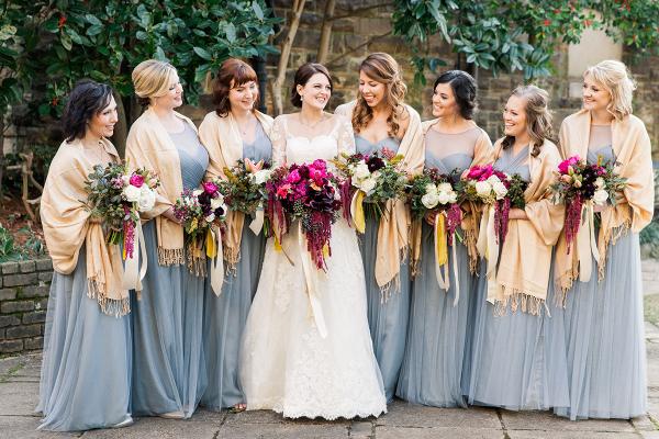 Cornflower Blue Jenny Yoo Bridesmaids