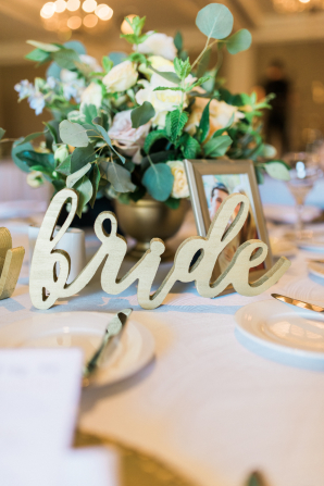 Bride Wooden Sign