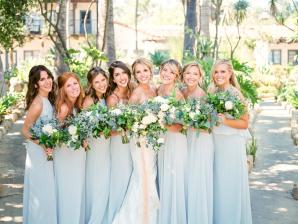 Bridesmaids in Nouvelle Amsale