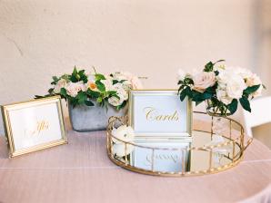 Card Tray at Wedding