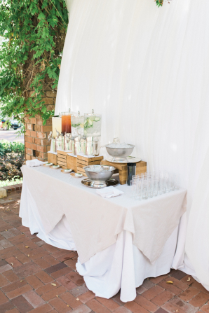 Drink Station for Wedding