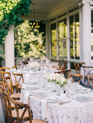 Farmhouse Chairs at Wedding