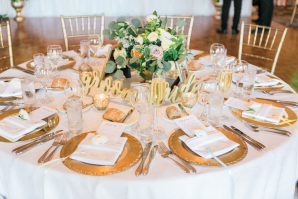 Gold Chargers for Wedding