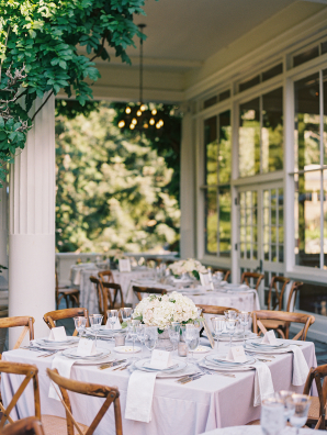 Ivory and Blush Outdoor Wedding