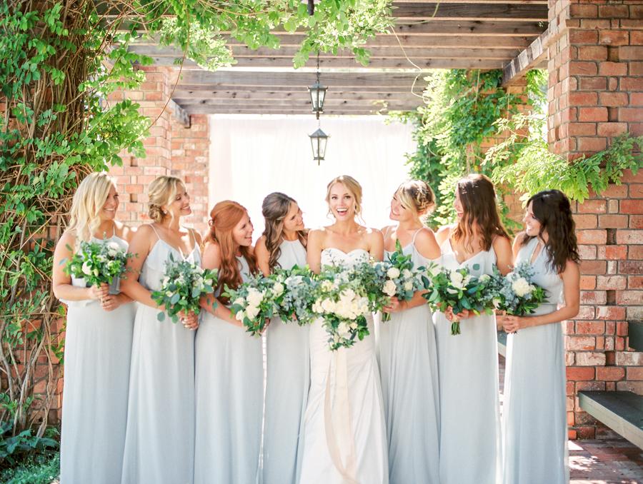 Garden Wedding Bridesmaid Dresses 39 Unique Lush Garden Wedding in