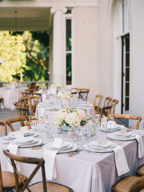 Outdoor Villa Wedding Reception