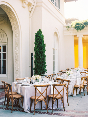Outdoor Wedding at Villa