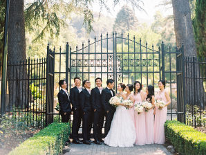 Villa Montalvo Wedding Danielle Poff 3