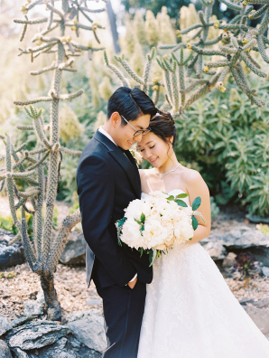 Villa Montalvo Wedding Danielle Poff 4