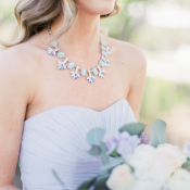 Bridesmaid in Statement Necklace