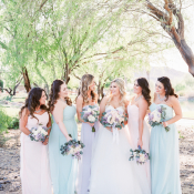 Bridesmaids in Pastels