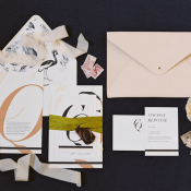 Chateau de varennes wedding invitations