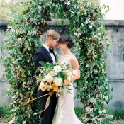 Greenery Wedding Arbor