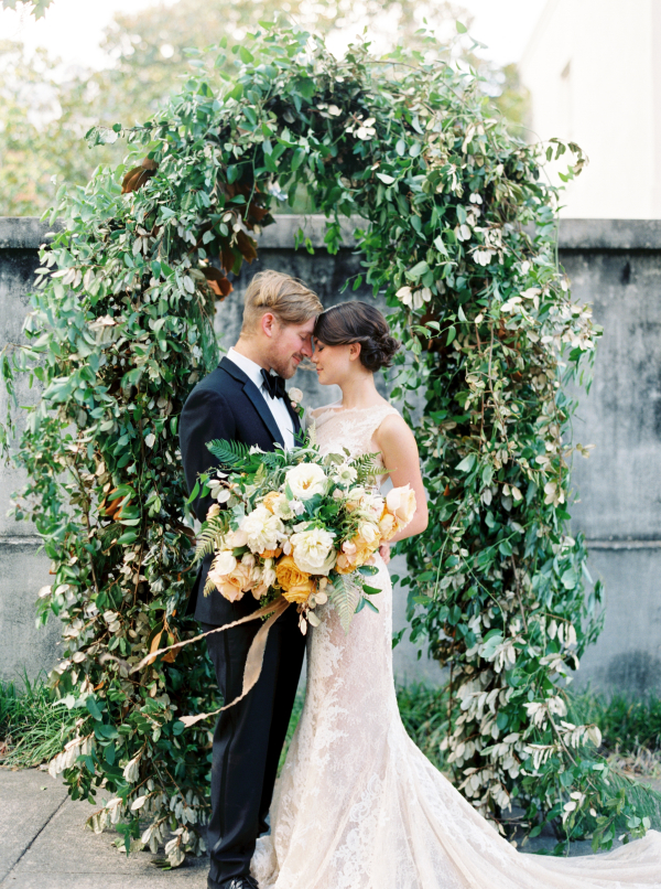 Greenery Wedding Arbor