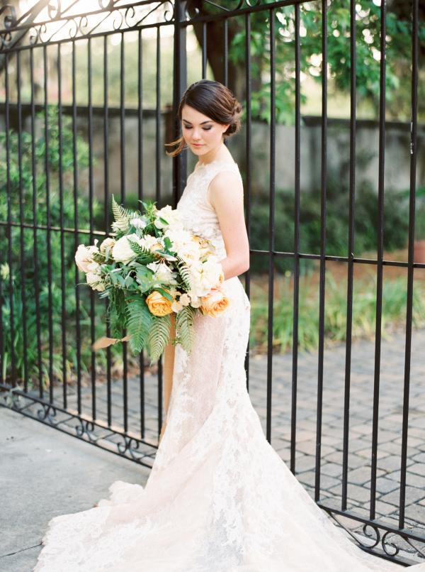 Lace Gown by Pronovias