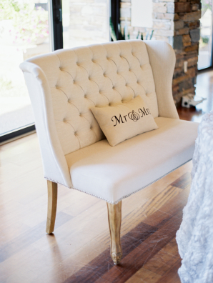 Mr and Mrs Settee for Wedding
