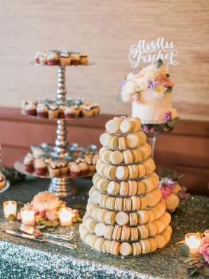 Wedding Cake of Macarons
