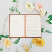 Weding Vow Book