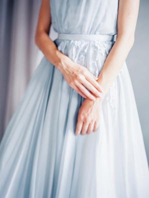 Blue Cathytelle Dress