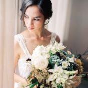 Bouquet with Soft Autumn Colors