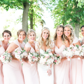 Bridesmaids in Hayley Paige