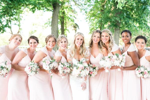 Bridesmaids in Hayley Paige