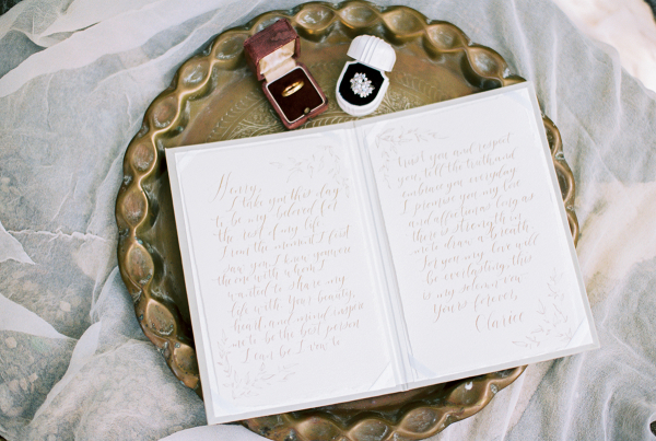 Calligraphy Vow Books