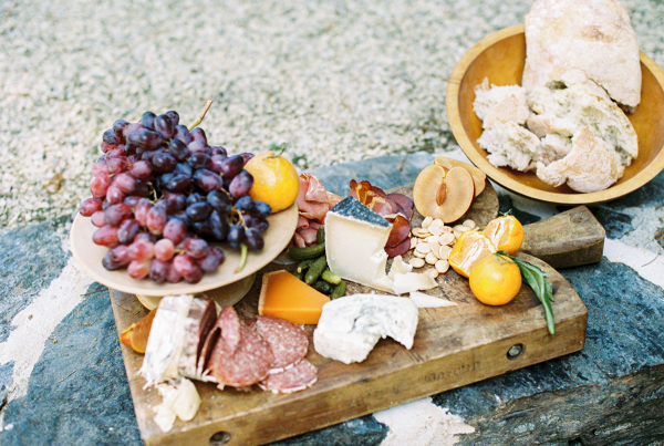 Charcuterie Wedding Display