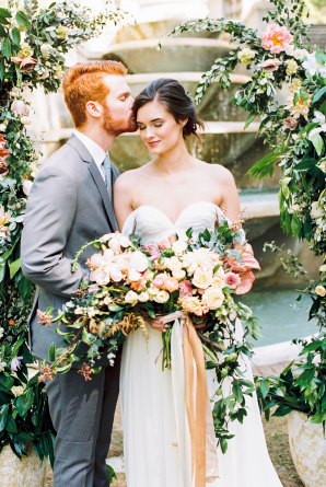 Colorful Elegant Wedding Florals