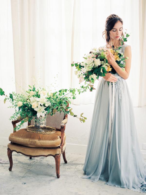 Ethereal Blue Wedding Inspiration
