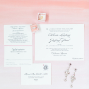 Letterpress Invitations from Bella Figura