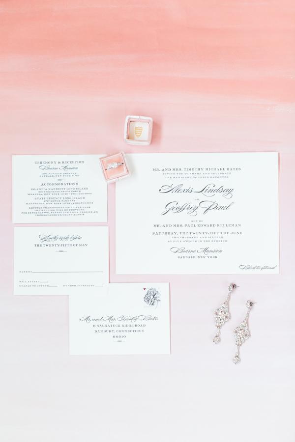 Letterpress Invitations from Bella Figura