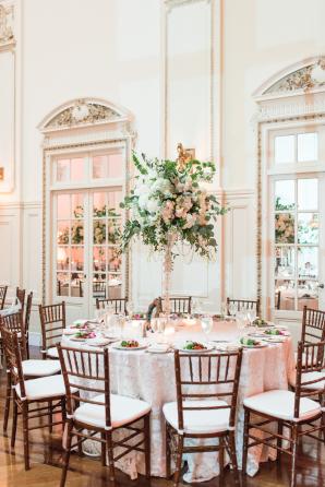Mansion Ballroom Wedding Reception