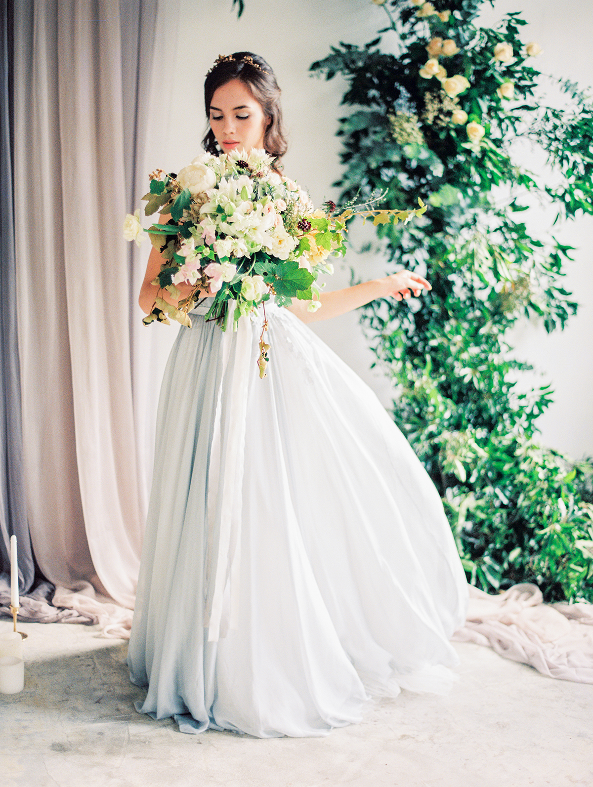 Pale Blue Wedding Dress - Elizabeth Anne Designs: The Wedding Blog