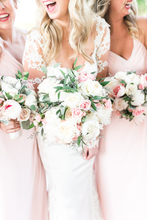 Peony and Rose Bouquets