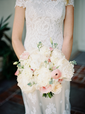 Ranunculus and Peony Bouquet