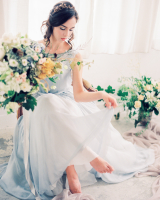 Romantic Serenity Blue Wedding Inspiration