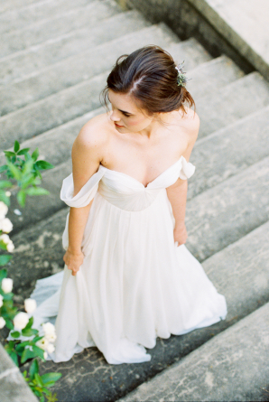 Sarah Seven Wedding Gown