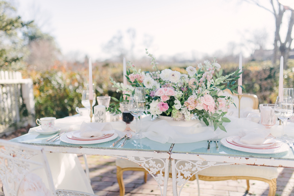 Blue and Pink Pastel Wedding